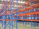 Pallet Rack Drive In Long Span Radio shuttle Racking systems